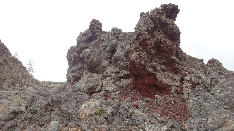 Lava Rock Formation at the Craters of the Moon NP