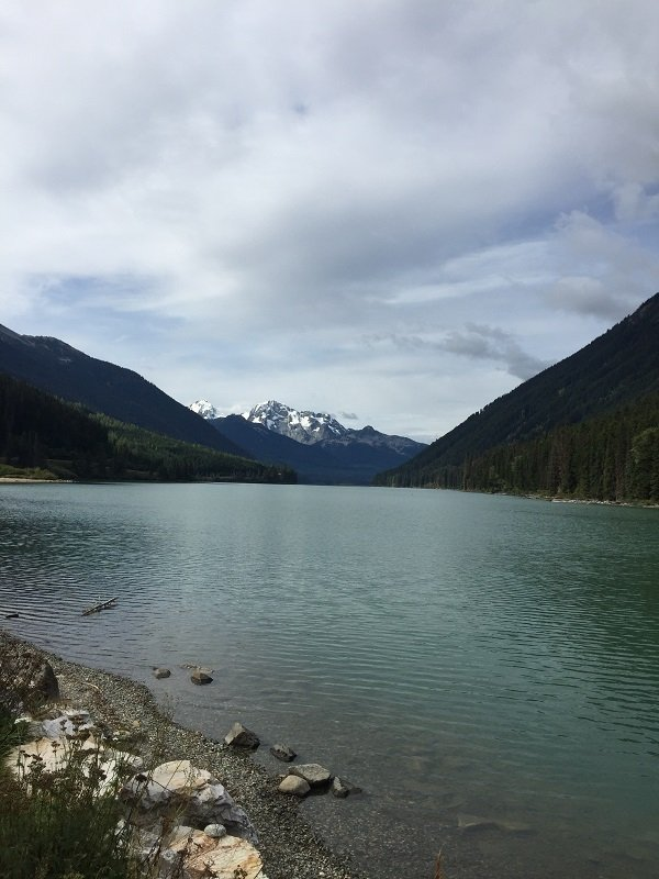 Spectacular scenery on the Whistler to Jasper Drive