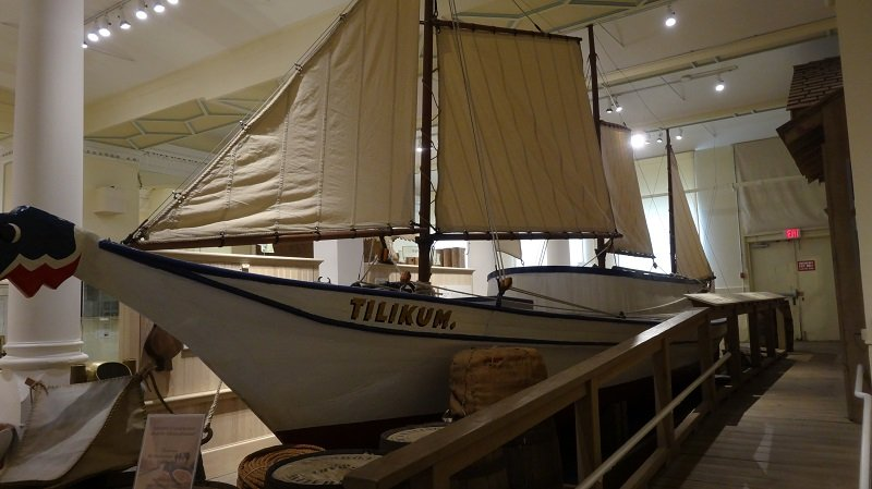 Things to do in Victoria BC Maritime Museum The Ship Tilikum sailed around the world in 1904