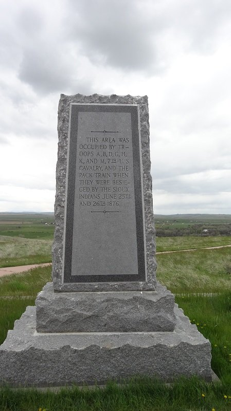 National Monument at Last Stand Hill
