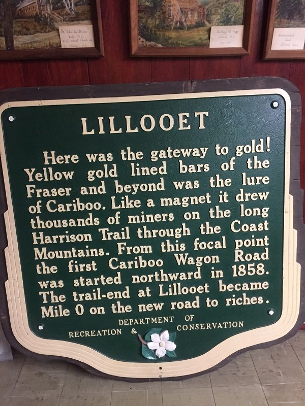 Lillooet was the gateway to Gold