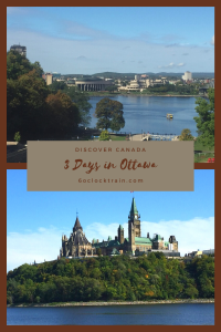 Spend 3 days in Ottawa and explore the sights and museums of Canada's Capital City. From Parliament Hill to the River Ottawa, get out and explore. #Canada #Ottawa