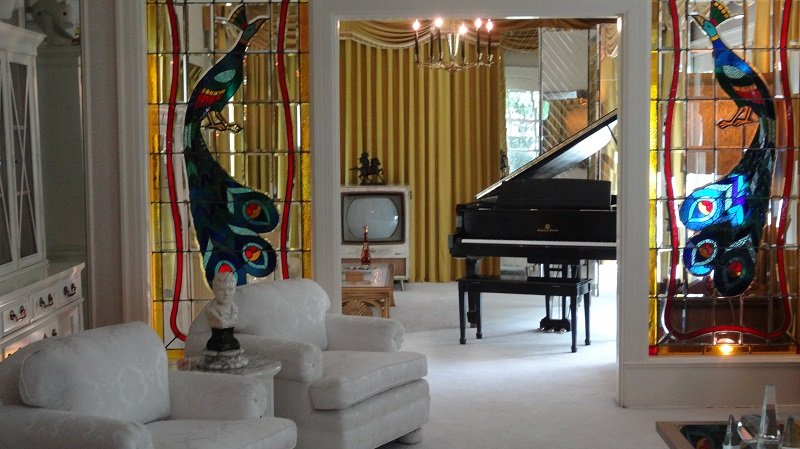 The Lounge with the piano