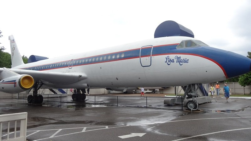 The Lisa Marie, Elvis's Plane named after his daughter