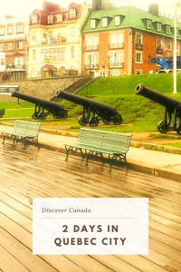 Find the top things to do in Quebec City and what to see and do on a 2 day itinerary. Explore the Old Town, ride the funicular railway and more. #QuebecCity #Canada