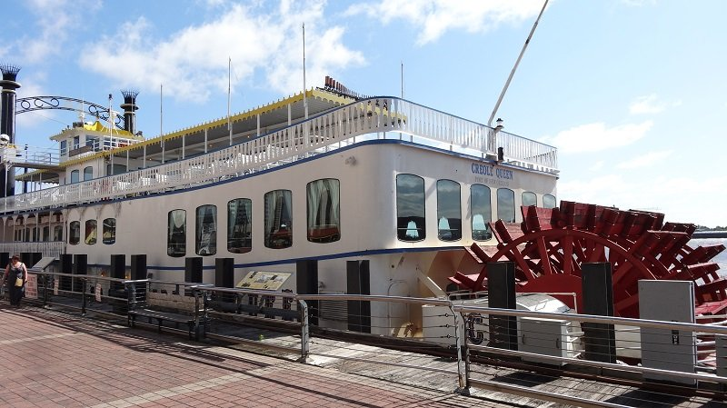 Mississipi River Boat in New Orleans