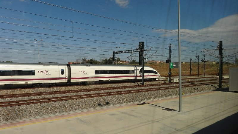 Barcelona to London by Train