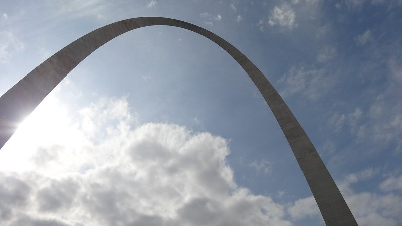 Seattle to Florida Road Trip The Gateway Arch in St Louis