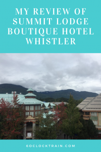 Summit Lodge Whistler Hotel Review. This boutique hotel is ideally located right in the heart of Whistler with well equipped suites for a relaxing stay. A great base for exploring the town and surrounding area. #WhistlerHotels #SummitLodgeWhistler