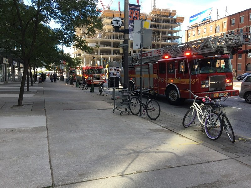 Fire Engines in Toronto