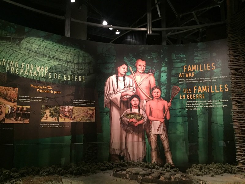 Exhibit on Families at War