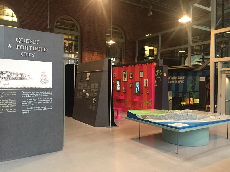 Exhibition on the fortified city of Quebec