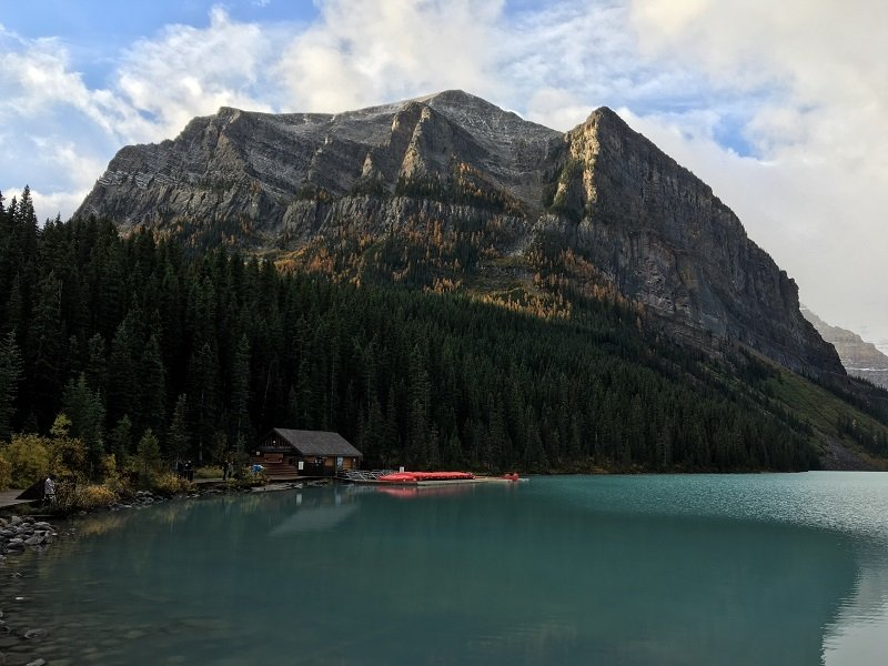 2 Days in Banff Boat House at Lake Louise