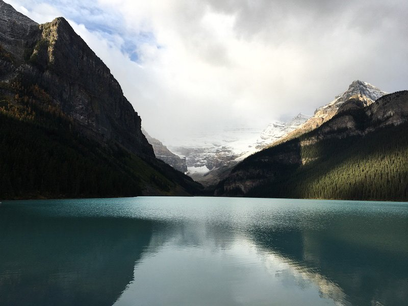 The beautiful Lake Louise