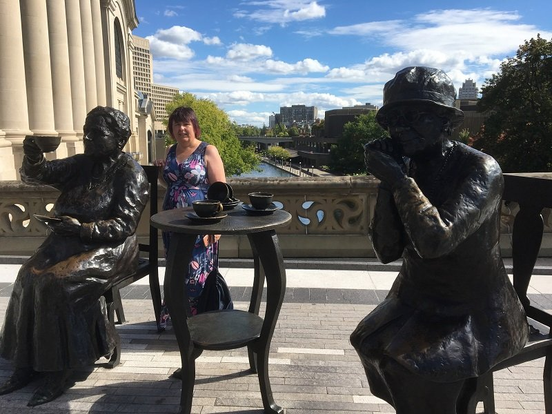 3 Days in Ottawa Famous Five Monument