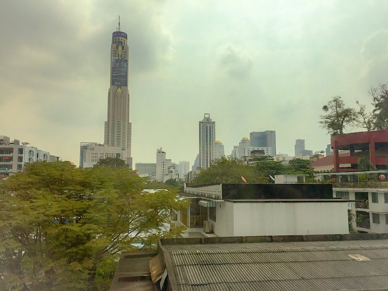 Where to stay in Bangkok - View from the Hotel Window