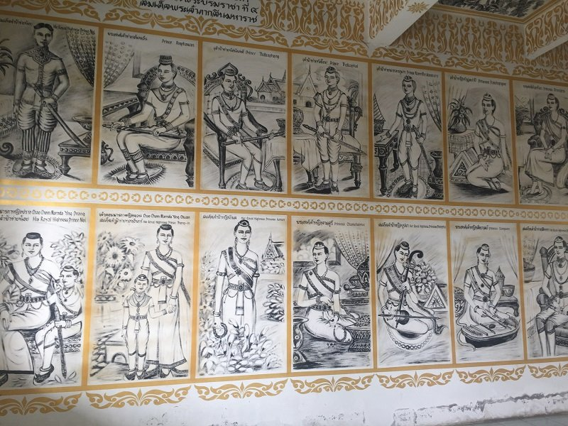 Mural depicting different people