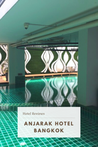 Where to stay in Bangkok which is near the Airport Rail and BTS Station. The Anjarak Hotel is a modern hotel, ideal for exploring Bangkok. [Review] #Thailand #AnjarakHotel #BangkokHotel