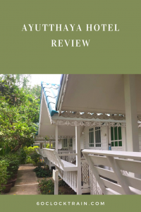 Where to stay in Ayutthaya. Check out this Ayutthaya Hotel Review on the bungalows at Baan Luang Harn. Within walking distance of the historical centre. #Thailand #AyutthayaHotel