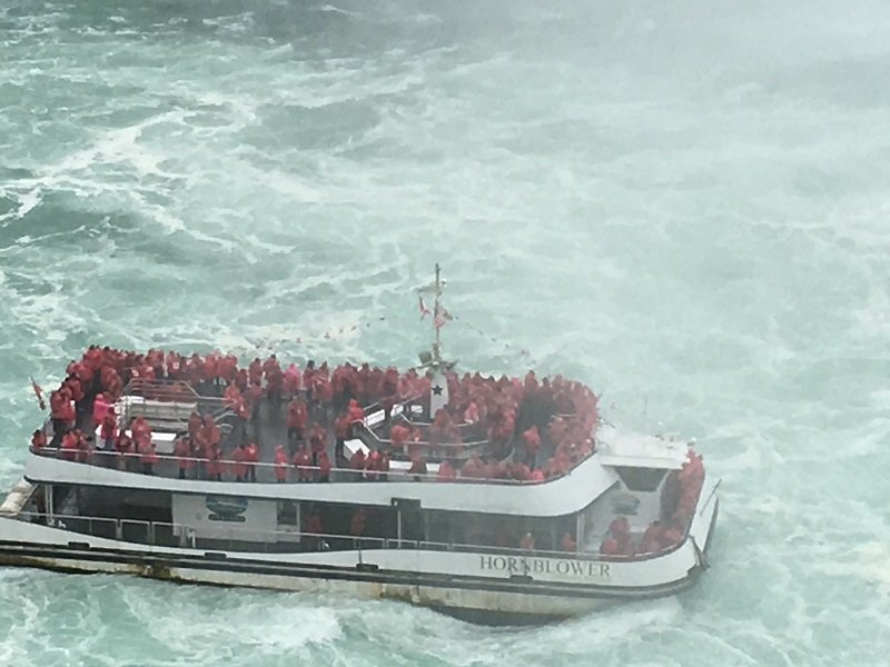 Take a boat trip while visiting Niagara Falls