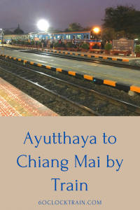 Take the overnight Ayutthaya to Chiang Mai Train as part of your tour of Thailand. The newer trains on this line provide a comfortable and affordable trip. Save the cost of a hotel room and wake up refreshed at your destination. #Thailand #Train #ChiangMai