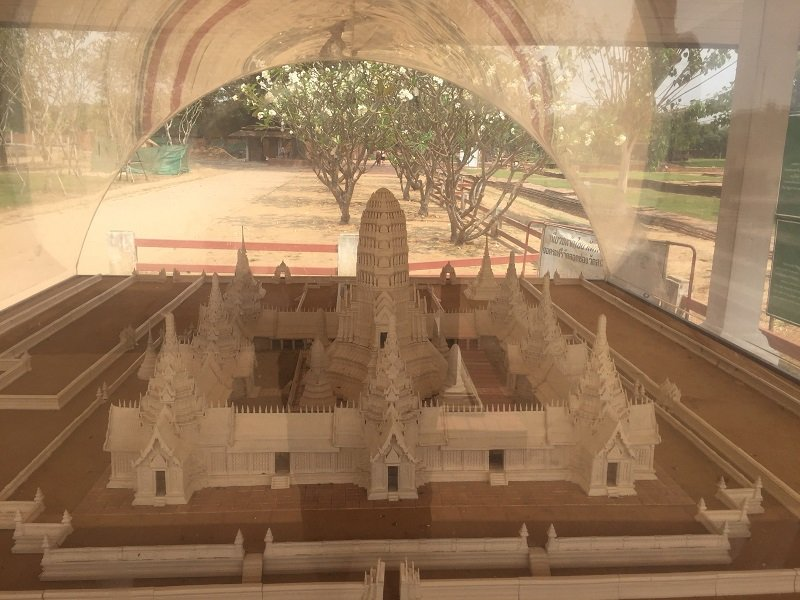 Model of Wat Chaiwatthanaram