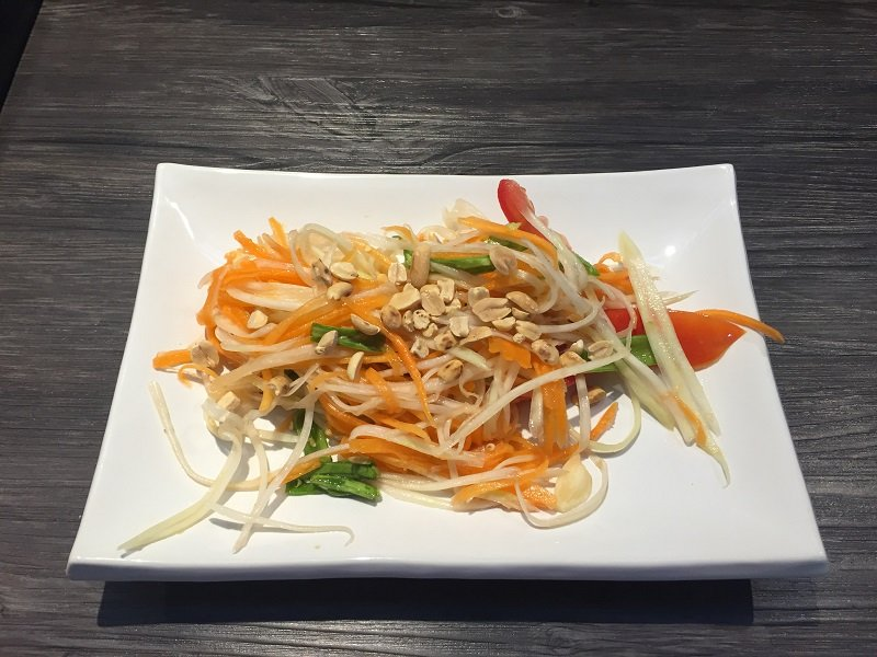 Cooking Class in Chiang Mai Papaya Salad
