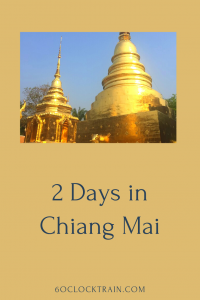What to do for 2 days in Chiang Mai. Get a great taste of Northern Thailand with our guide for things to do in Chiang Mai.