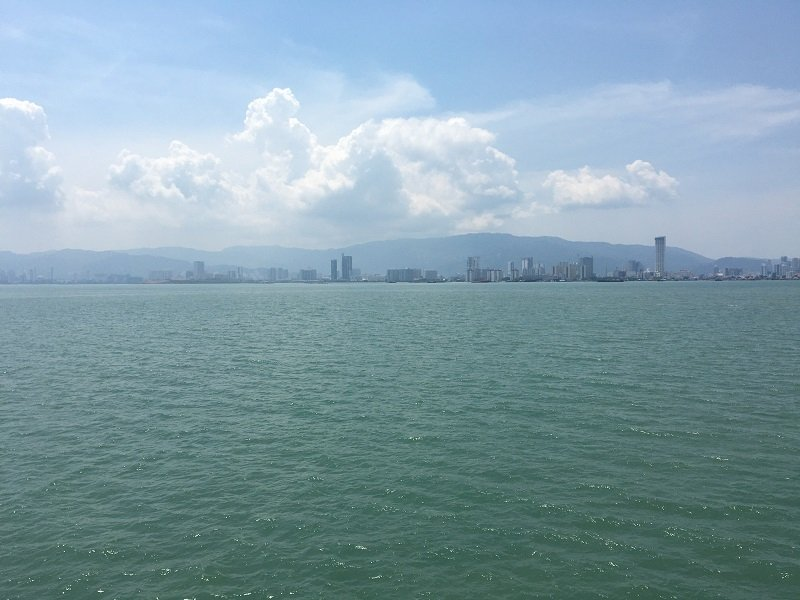 View from the Butterworth to Penang Ferry