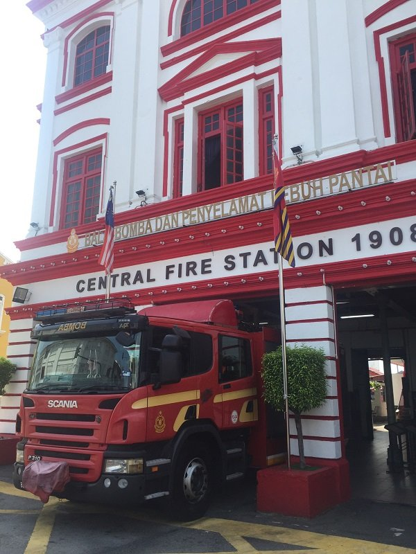 Penang Sightseeing Central Fire Station