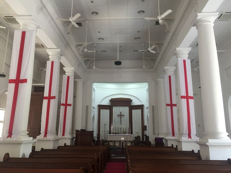 Inside St George's Church
