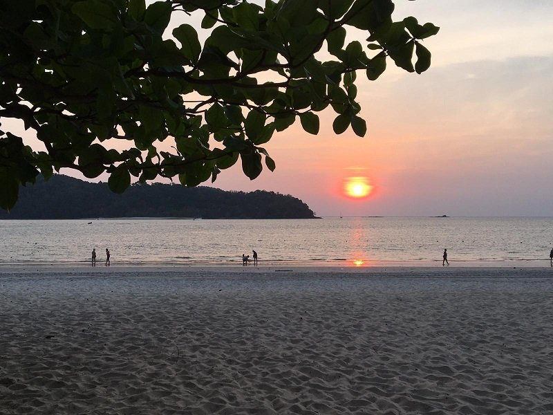 Where to Stay in Langkawi Sunset on the beach