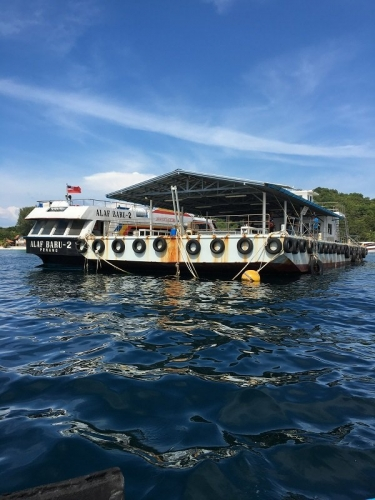 Pontoon at Koh Lipe