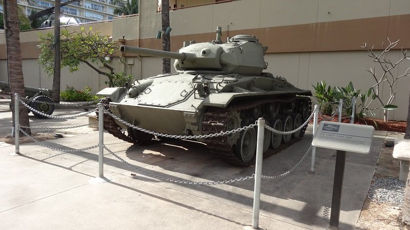 Tank outside the army museum